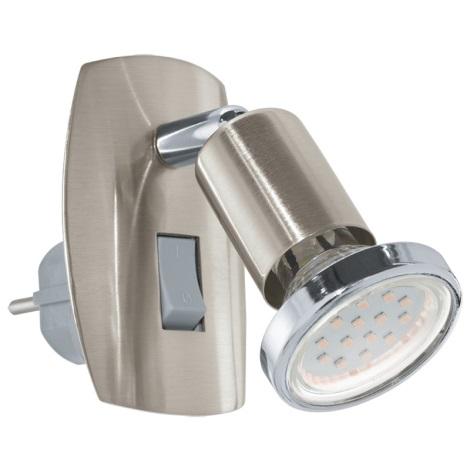 Eglo 92924 - LED svietidlo do zásuvky MINI 4 1xGU10-LED/3W/230V
