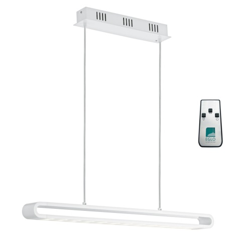 Eglo 93006 - LED závesné svietidlo PERILLO LED/24W + LED-RGB/7W/230V