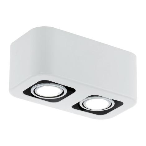 EGLO 93012 - Downlight  TORENO 2xGU10/5W