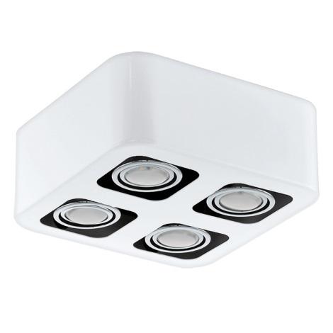 Eglo 93013 - LED prisadené stropné svietidlo TORENO 4xGU10-LED/5W/230V