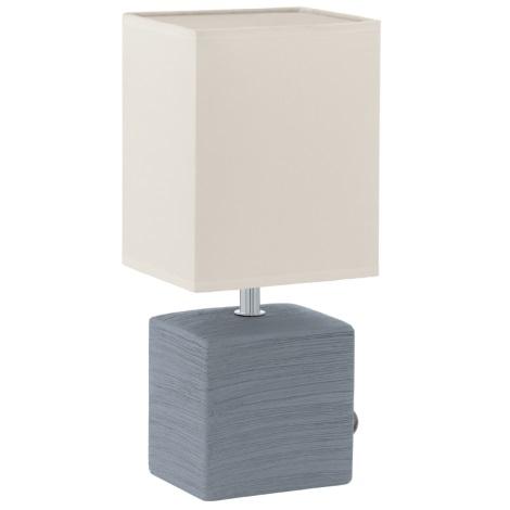 EGLO 93044 - Stolná lampa MATARO 1xE14/40W