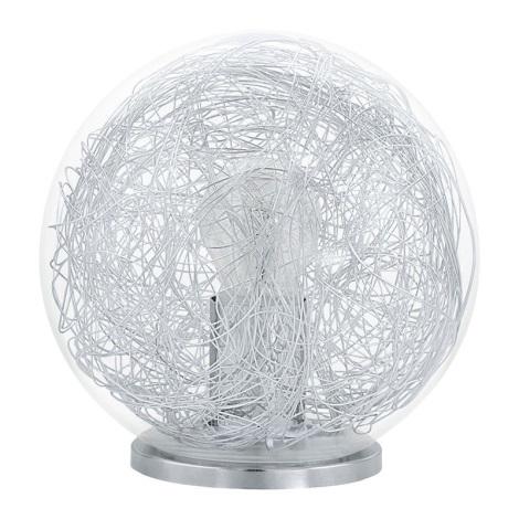 Eglo 93075 - Stolná lampa LUBERIO 1xE27/60W/230V
