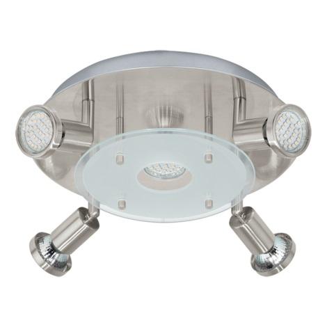 Eglo 93083 - LED bodové svietidlo PAWEDO 5xGU10-LED/3W/230V