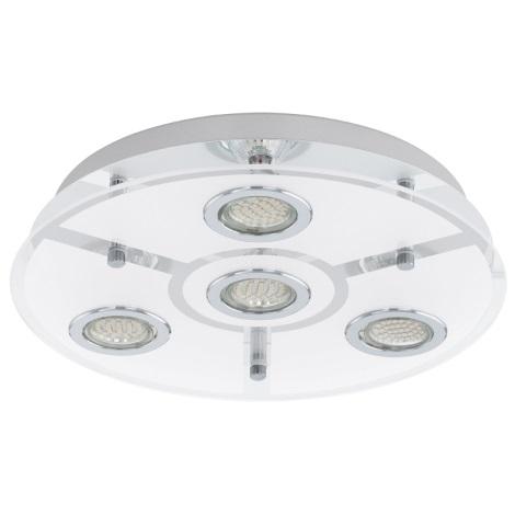 EGLO 93107 - LED Stropné svietidlo CABO 4xGU10/3W LED