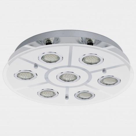 Eglo 93108 - LED stropné svietidlo CABO 7xGU10/3W/230V