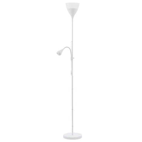 Eglo 93209 - Stojaca lampa SPELLO 2 1xE27/7W + 1xGU10/3W