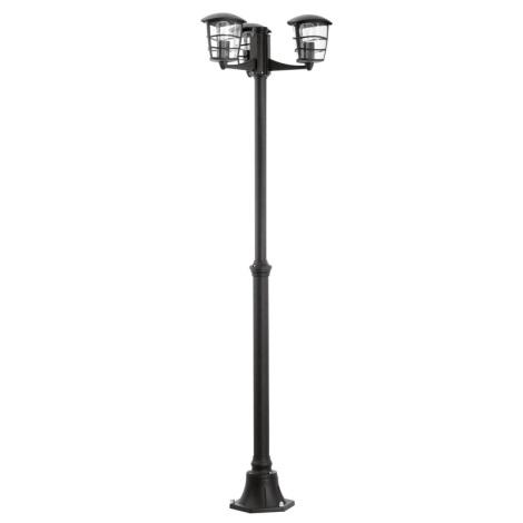Eglo 93409 - Vonkajšia lampa ALORIA 3xE27/60W/230V