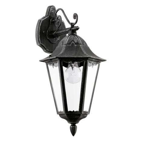 Eglo 93456 - Vonkajšie nástenné svietidlo navedie 1xE27/60W/230V