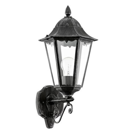 Eglo 93457 - Vonkajšie nástenné svietidlo navedie 1xE27/60W/230V