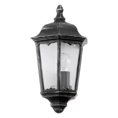 Eglo 93459 - Vonkajšie nástenné svietidlo navedie 1xE27/60W/230V