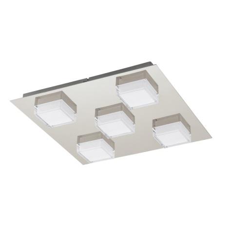 EGLO 93509 - LED Nástenné stropné svietidlo MASIOLA 5xLED/2,5W