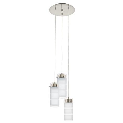 Eglo 93544 - LED závesné svietidlo OLVERO 3xGX53/7W/230V