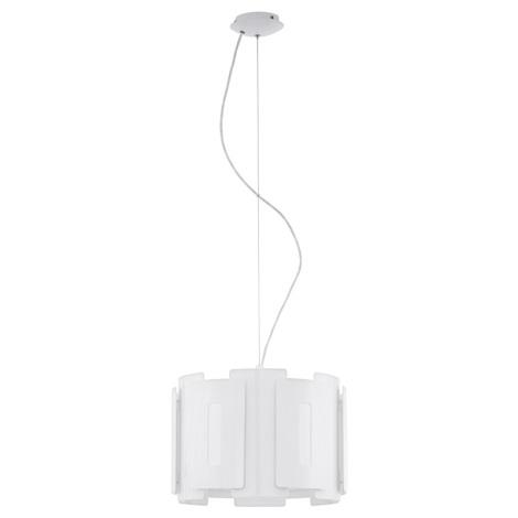 Eglo 93552 - Luster na lanku ESTEPOLA 1xE27 / 60W / 230V biela