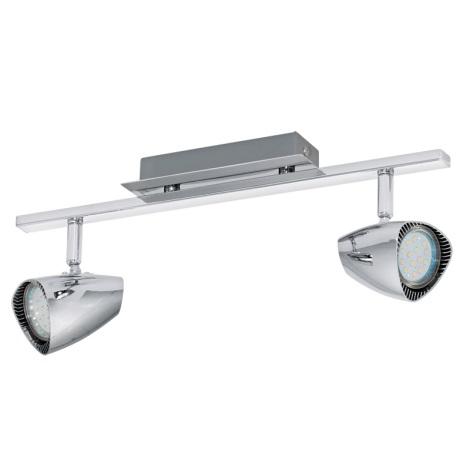 Eglo 93673 - LED bodové svietidlo CORBERO 2xGU10/3W/230V