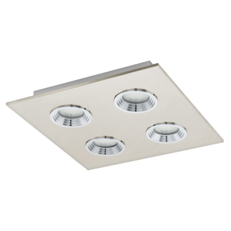 Eglo 93681 - LED stropné svietidlo SABBIO 1 4xGX53/7W/230V