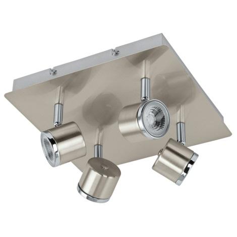 Eglo 93696 - LED bodové svietidlo PIERINO 4xLED/5W/230V