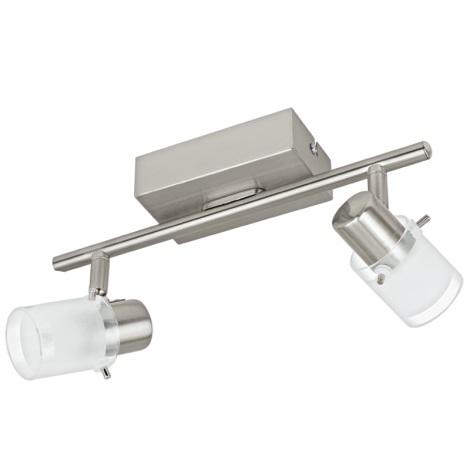 Eglo 93702 - LED bodové svietidlo ORVIETO 1 2xLED/3,3W/230V