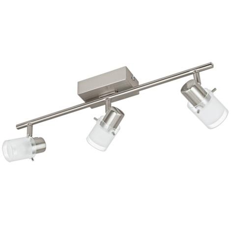 Eglo 93703 - LED bodové svietidlo ORVIETO 1 3xLED/3,3W/230V