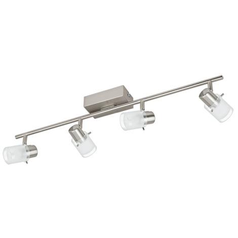Eglo 93704 - LED bodové svietidlo ORVIETO 1 4xLED/3,3W/230V