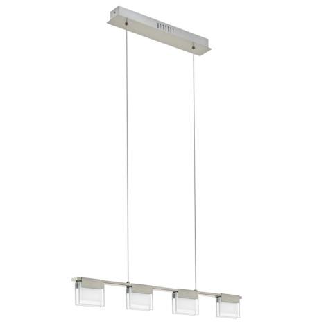 Eglo 93731 - LED stmievateľný luster CLAP 1 4xLED/5,8W/230V