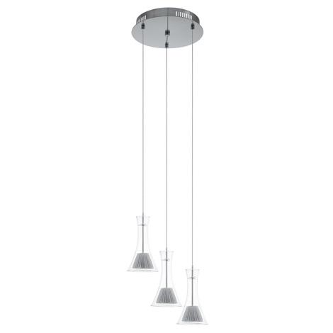 Eglo 93792 - LED závesné svietidlo MUSERO 3xLED/5,4W/230V