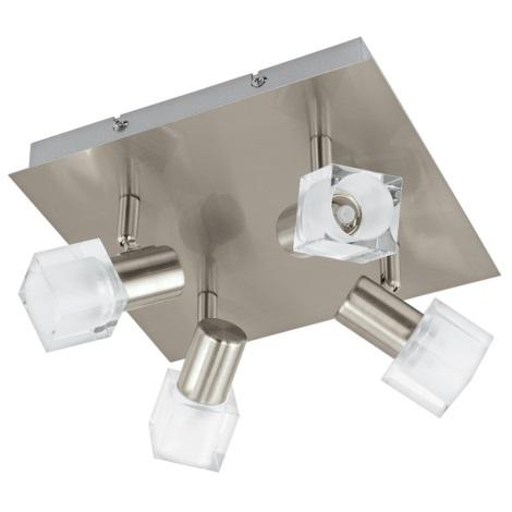 Eglo 93815 - LED bodové svietidlo NOCERA 4xLED/5W/230V