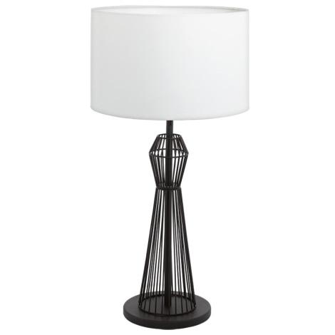 Eglo 93989 - Stolná lampa VALSENO 1xE27/60W/230V