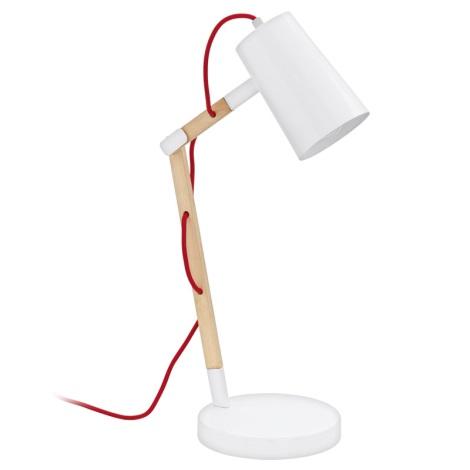 Eglo 94033 - Stolná lampa TORONA 1xE27/60W/230V