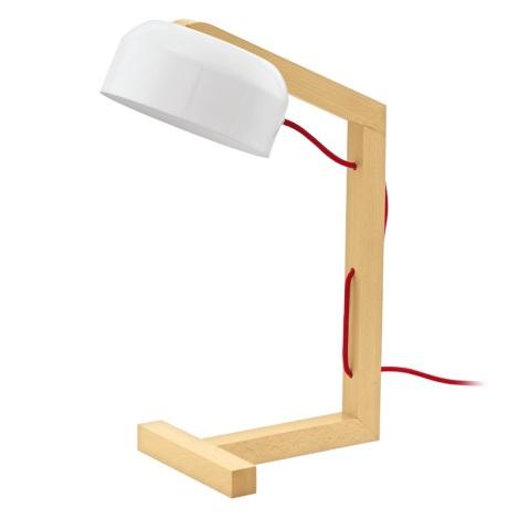 Eglo 94035 - Stolná lampa GIZZERA 1xE27/60W/230V