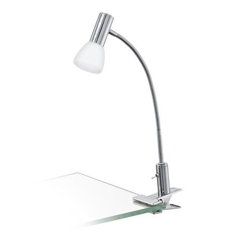 Eglo 94038 - LED Lampa so štipcom GLOSSY 1xLED/3,3W/230V