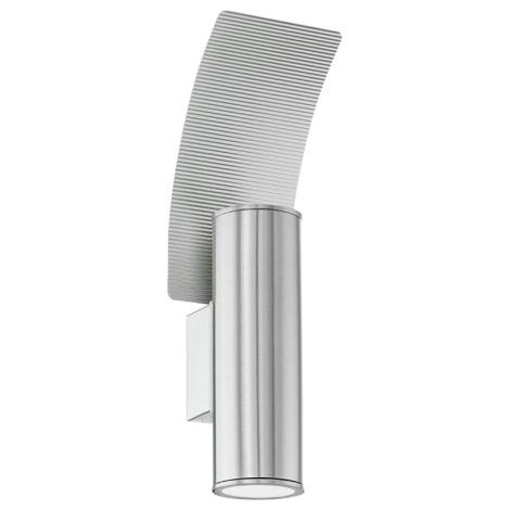Eglo 94098 - LED vonkajšie osvetlenie RIGA 2 2xGU10/3W/230V