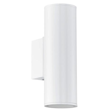 Eglo 94101 - LED vonkajšie osvetlenie RIGA 2xGU10/3W/230V