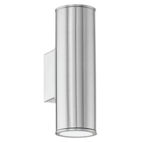Eglo 94107 - LED vonkajšie osvetlenie RIGA 2xGU10/3W/230V