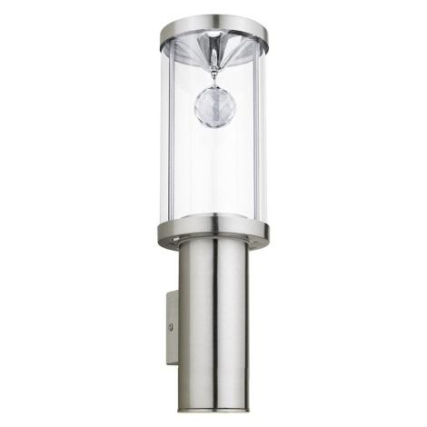 Eglo 94125 - LED vonkajšie osvetlenie TRONO 2 1xGU10/3W + 1xLED/3,7W