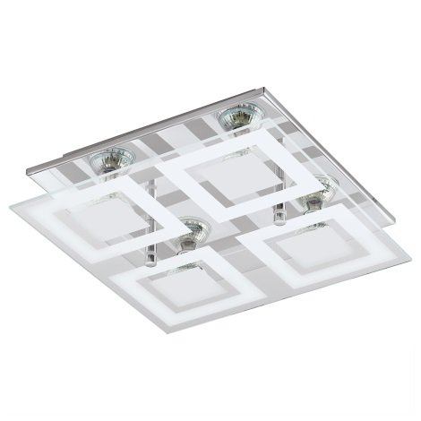 Eglo 94226 - LED stropné svietidlo ALMANA 4xGU10-LED/3W/230V