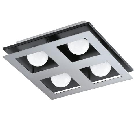Eglo 94233 - LED stropné svietidlo BELLAMONTE 4xLED/3,3W/230V