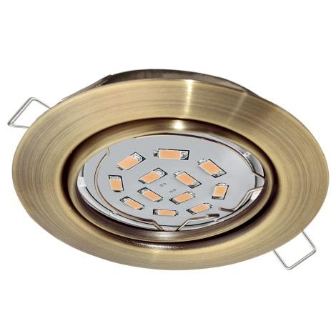 Eglo 94243 - LED Podhľadové svietidlo PENETO 1xGU10-LED/5W/230V