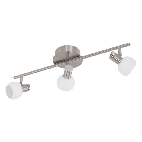 Eglo 94255 - LED bodové svietidlo SESTO 3xLED/3,3W/230V