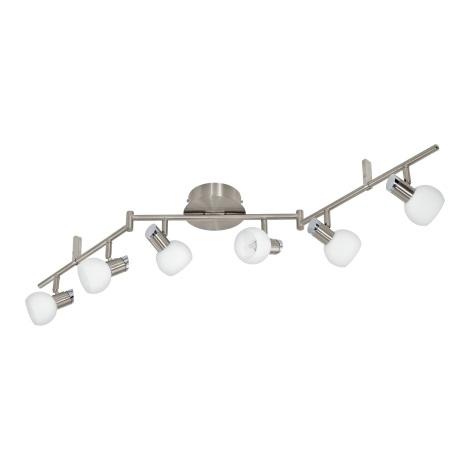 Eglo 94276 - LED Bodové svietidlo SESTO 6xLED/3,3W/230V