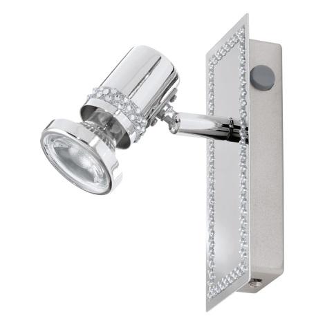 Eglo 94286 - LED bodové svietidlo BONARES 1xGU10/3,3W/230V