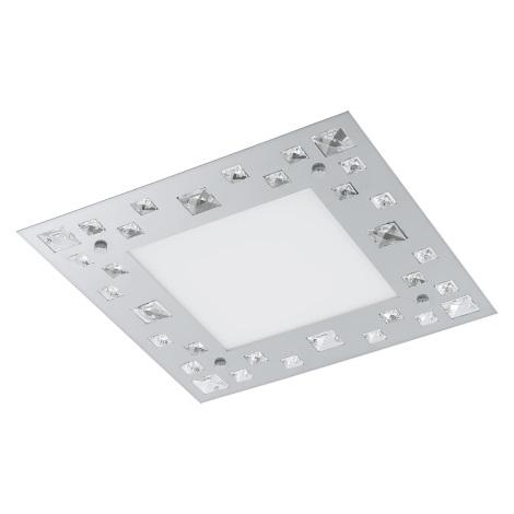 Eglo 94291 - LED stropné svietidlo TRESANA LED/16W/230V krištáľ