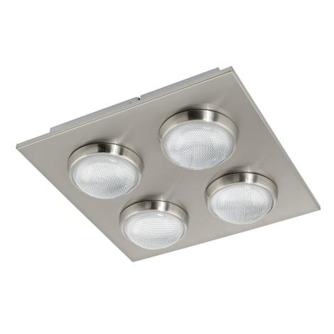 Eglo 94298 - LED stropné svietidlo LOMBES 4xLED/4,5W/230V