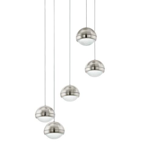 Eglo 94301 - LED luster LOMBES 5xLED/4,5W/230V