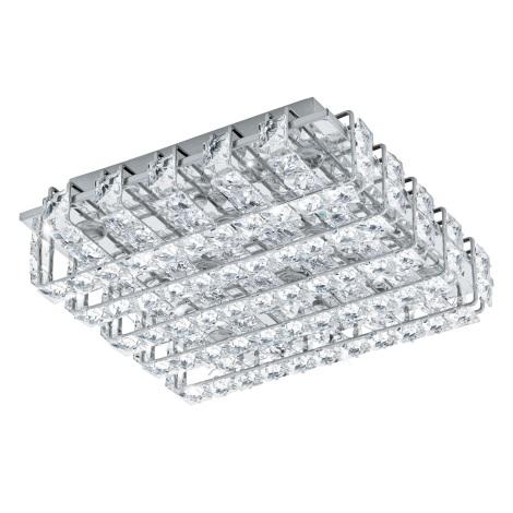 Eglo 94313 - LED krištáľové stropné svietidlo LONZASO 8xLED/3,3W/230V