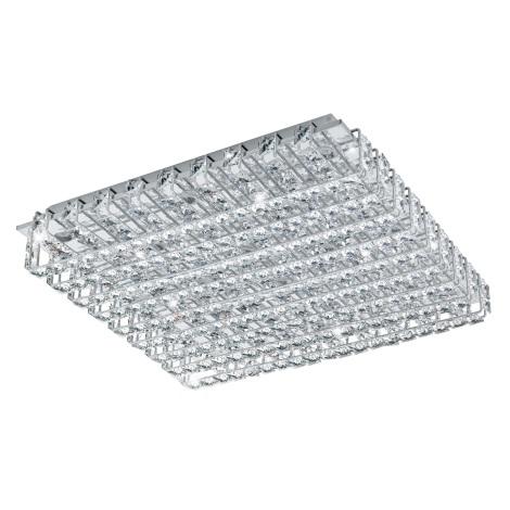 Eglo 94315 - LED krištáľové stropné svietidlo LONZASO 16xLED/3,3W/230V