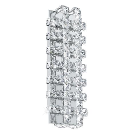 Eglo 94316 - LED krištáľové nástenné svietidlo LONZASO 6xLED/3,3W/230V