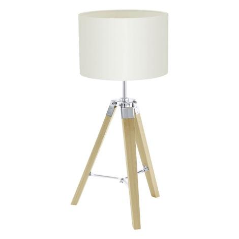 Eglo 94323 - Stolná lampa LANTADA 1xE27/60W/230V
