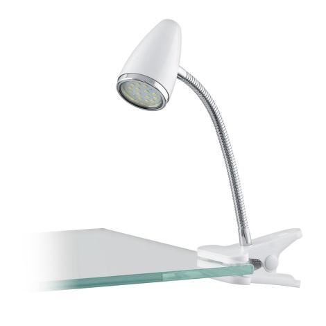 Eglo 94329 - LED Lampa so štipcom RICCIO 1xGU10-LED/3W/230V