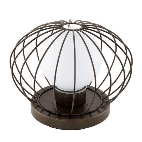 Eglo 94334 - Vonkajšia lampa TERRICO 1xE27/60W/230V