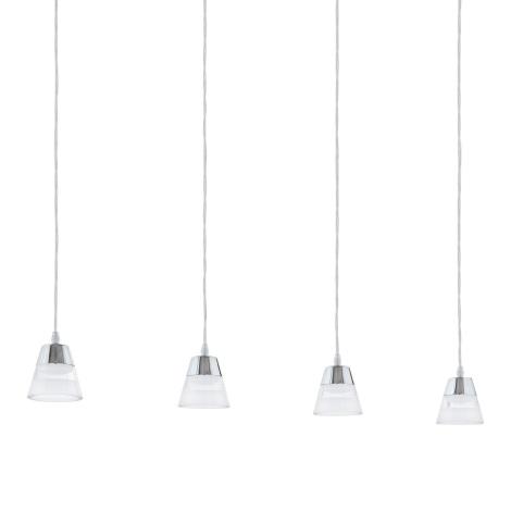 Eglo 94356 - LED luster PANCENTO 4xLED/4,5W/230V